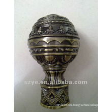 L02 brass finial for curtain rod decoration classic finials